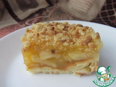 Вкусная и простая шарлотка с яблоками