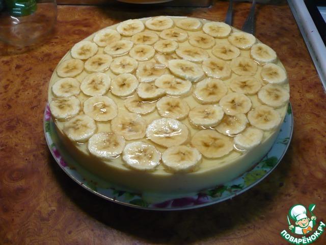 Банановый торт легкий рецепт пошагово в домашних условиях