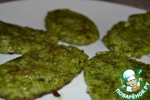 Зеленые оладьи из брокколи домашний рецепт с фото как готовить