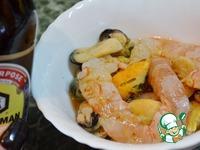 Рисовая лапша с морепродуктами ингредиенты