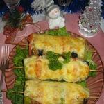 Шашлычки-овощи с фаршем