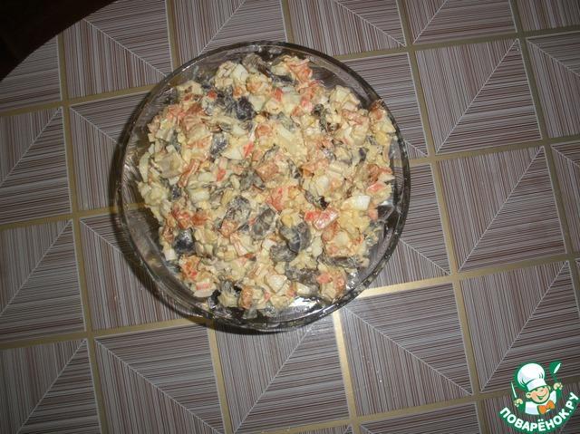 Салат на торжество рецепт