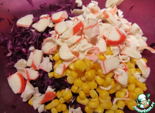 крабовые палочки печень трески и авокадо салат