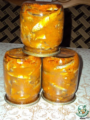 Рецепт Домашние рыбные консервы