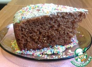 Как готовить домашний рецепт с фото Пирог шоколадный