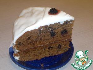 Рецепт пирога негр в пене