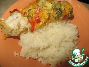Готовим Рыбка под овощной шубкой вкусный рецепт приготовления с фотографиями