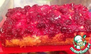 Как готовить Кекс-перевертыш вишневый