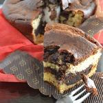Кейк шоколадно-кофейный с маскарпоне