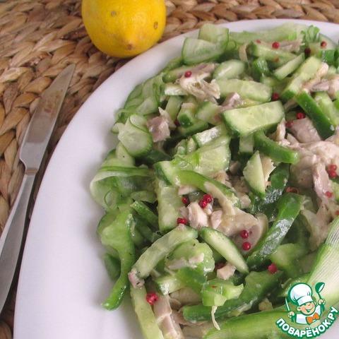 Поваренок салаты с курицей рецепты простые и вкусные