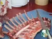 «Корона» из бараньей корейки ингредиенты