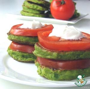 Рецепт Оладьи из зеленого горошка