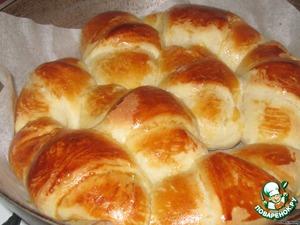 """Рецепт Булка-пирог по мотивам """"Monkey Bread"""" или """"Обезьяний хлеб"""""""