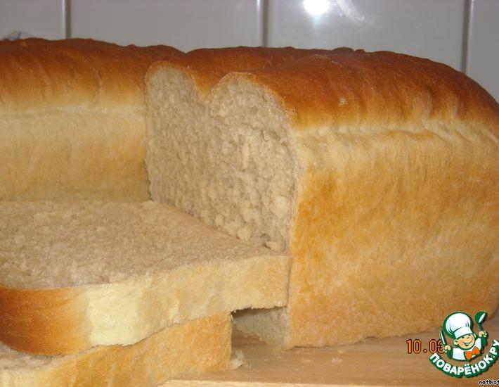 Рецепт: Французский хлеб по шведскому рецепту
