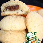 Миндальное печенье с начинкой