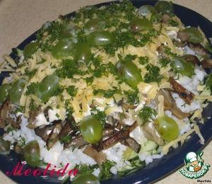 как готовить осенний салат