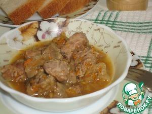 Как готовить Говядина, тушеная с тыквой, в собственном соку домашний рецепт с фотографиями пошагово