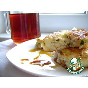 Оладьи к утреннему чаю