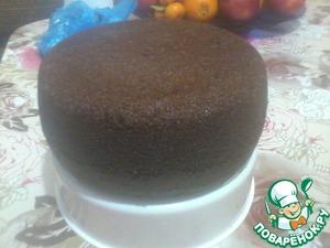 Шоколадный бисквит на кипятке в мультиварке рецепт приготовления с фотографиями как приготовить