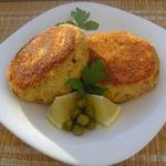Сырно-картофельные биточки с начинкой