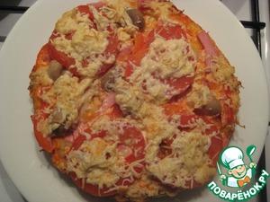 Пицца пирог в мультиварке рецепты с фото