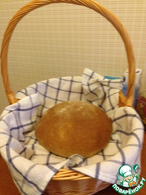 Хлеб домашний простой пошаговый рецепт приготовления с фотографиями как приготовить