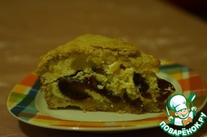 Как готовить Пирог с творогом и финиками рецепт приготовления с фото пошагово