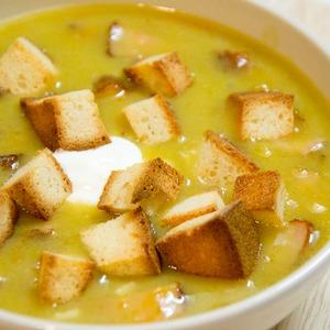 : Гороховый постный суп