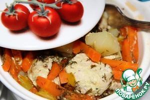 Жаркое из индейки в горшочке простой рецепт с фото пошагово как приготовить