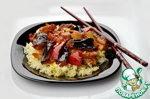 Рецепт Баклажаны по-китайски