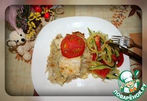 Рецепт Тертая запеканка с рыбкой