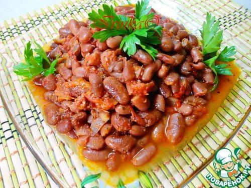 Рецепт фасоль по-гречески на зиму рецепт