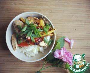 Рецепт Вок с курицей и рисом