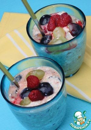 Как приготовить Йогурт с сухофруктами пошаговый рецепт приготовления с фотографиями