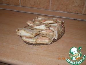 Рецепт Конвертики с соленой семгой