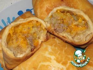 Пирожки из «неправильного» слоеного теста домашний рецепт приготовления с фото пошагово готовим