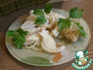 Рецепт Маринованный судак (толстолобик, кальмары)