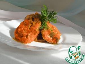 Рецепт Баклажаны в маринаде из свежих помидоров