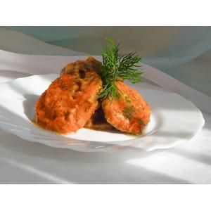 Баклажаны в маринаде из свежих помидоров