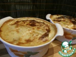 Рецепт Картошка, запеченная в сливочно-сырном соусе