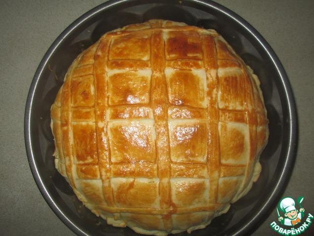 Тесто слоеное для курника рецепт с пошагово в 171