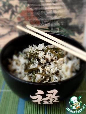Рецепт Рис с японской приправой