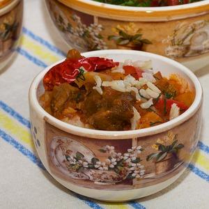 Рецепт Батта с рисом (ганфан)