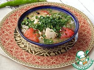 Рецепт Товук шурпа (куриный суп)