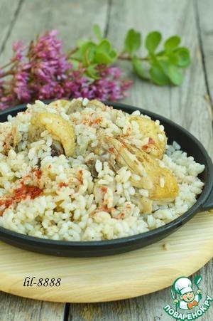 Рецепт Турецкая куриная капама из Эскишехира