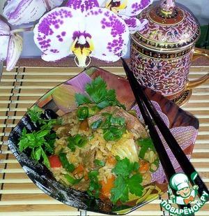 Рецепт Рис с говядиной и овощами
