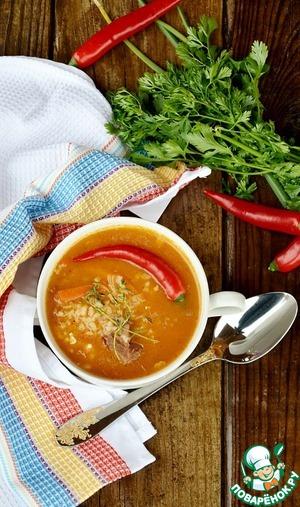 Рецепт Густой бараний суп