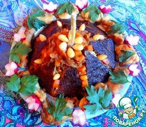 Рецепт Бораны-плов с курицей и тыквой