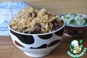 Рецепт Палау-лобо и салат из редьки