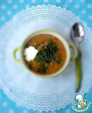 Рецепт Индийский суп с рисом басмати и пряностями